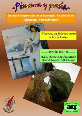 EXPOSICIÓN DE PINTURA DE RICARDO FERNÁNDEZ