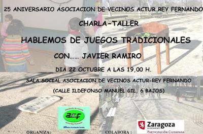 CHARLA DE ACTUR-REY FERNANDO SOBRE JUEGOS TRADICIONALES