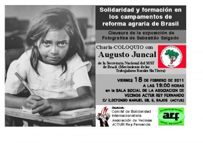 CHARLA DE ACTUR-REY FERNANDO CON AUGUSTO JUNCAL