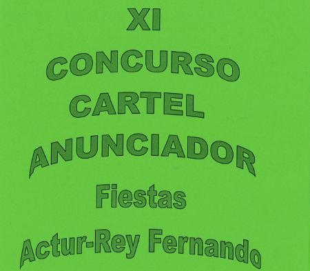CONCURSO CARTEL ANUNCIADOR DE LAS FIESTAS